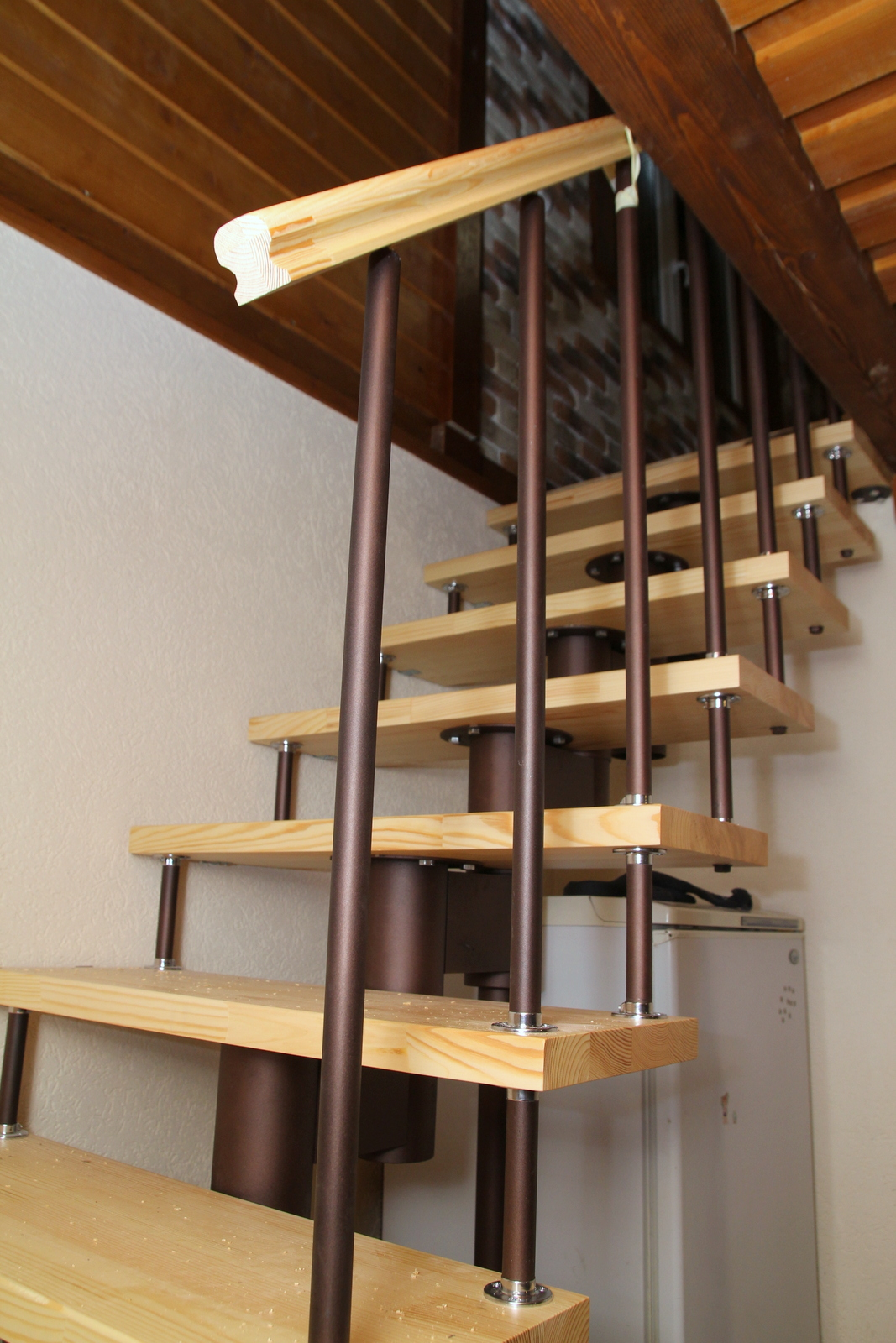 Деревянная лестница своими руками пошаговая инструкция, расчеты, фото 61